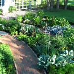 Brickman Landscaping for Traditional Landscape with White Lap Siding Porch