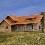 Bridger Steel for Rustic Exterior with Entry