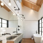 Brizo for Industrial Bathroom with Wall Mounted Faucet