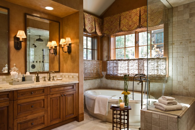 Brownlee Lighting for Traditional Bathroom with Interior