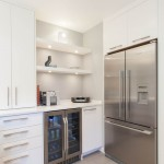 Builders Appliance Center for Contemporary Kitchen with Flush Cabinets