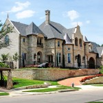 Builders Supply Outlet for Traditional Exterior with Stone