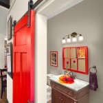 Builders Warehouse Okc for Contemporary Powder Room with Door Hardware