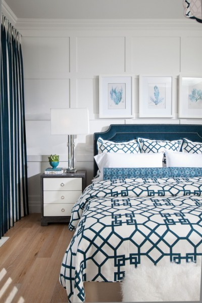Bungalow5 for Traditional Bedroom with Lattice Print