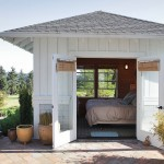 Bunkie for Beach Style Exterior with Hip Roof