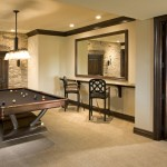 Burnsville Theater for Traditional Basement with Pool Table