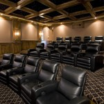 Burnsville Theater for Traditional Home Theater with Fiber Optic Lighting