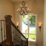 Burnsville Theater for Traditional Staircase with Fusion Designs
