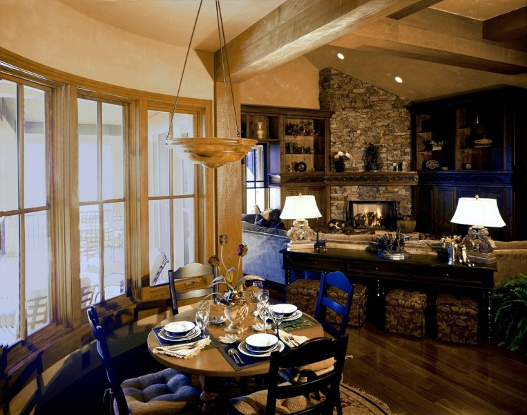Burton Lumber for Rustic Dining Room with Rustic