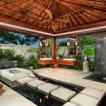 Buster Crabbe Pools for Tropical Bathroom with Roof Overhang