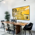 Buttercup Furniture for Contemporary Dining Room with Castro