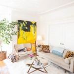 Buttercup Furniture for Midcentury Living Room with Apartment