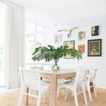 Buttercup Furniture for Shabby Chic Style Dining Room with Art Collection