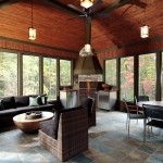 Buttercup Furniture for Traditional Porch with Slate