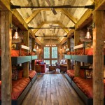 Cabin John Md for Rustic Bedroom with Vaulted Ceilings