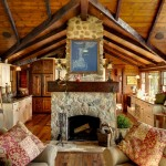 Cabin John Md for Rustic Living Room with Rustic