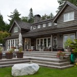 Cabin John Md for Traditional Exterior with Stone Chimney