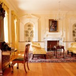 Cabriole for Traditional Living Room with Chandelier
