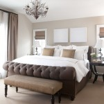 Cal King Dimensions for Traditional Bedroom with Bench Seat