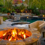 California Cafe Los Gatos for Contemporary Pool with Hot Tub