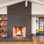 California Cafe Los Gatos for Scandinavian Living Room with Fireplace