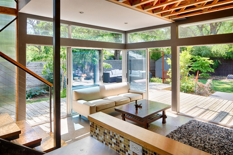 Camden South Capitol for Contemporary Living Room with Contemporary Architecture