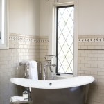 Cancos Tile for Transitional Bathroom with Subway Tiles