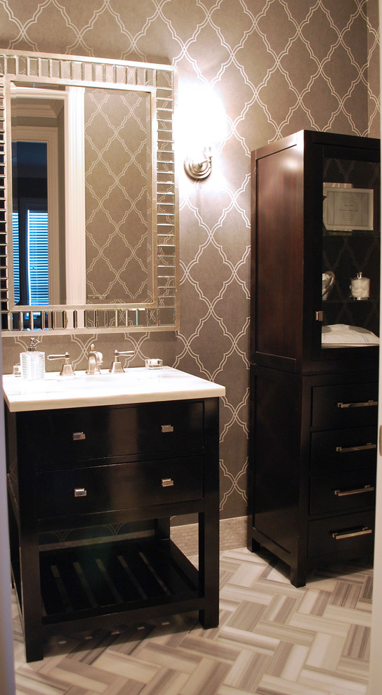 Candice Olsen for Contemporary Bathroom with Contemporary