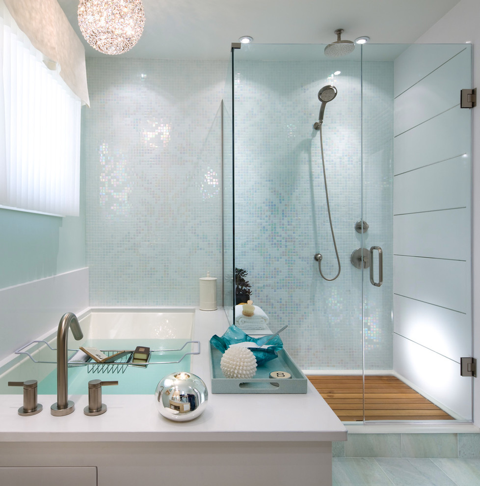 Candice Olsen for Contemporary Bathroom with Modern Lighting