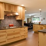 Canyon Creek Cabinets for Craftsman Kitchen with Wood Cabinets