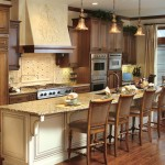 Canyon Creek Cabinets for Mediterranean Kitchen with Framed Cabinets