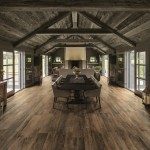 Capco Tile for Rustic Dining Room with Gray Interior