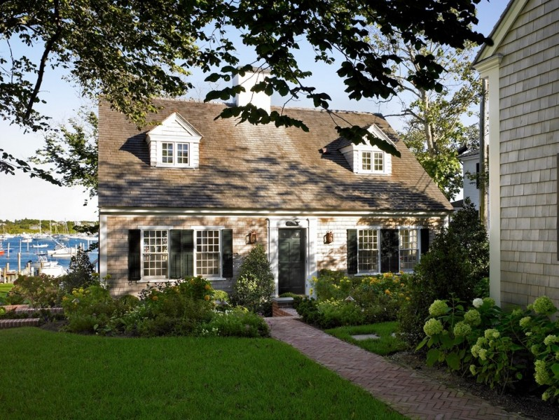 Cape Cod Brass for Beach Style Exterior with Patrick Ahearn
