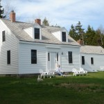 Cape Cod Lumber for Farmhouse Exterior with Patio Furniture