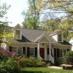 Cape Cod Lumber for Traditional Exterior with Entrance