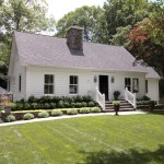 Cape Cod Lumber for Traditional Exterior with Front Yard Landscaping