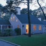 Cape Cod Lumber for Traditional Exterior with Shingle