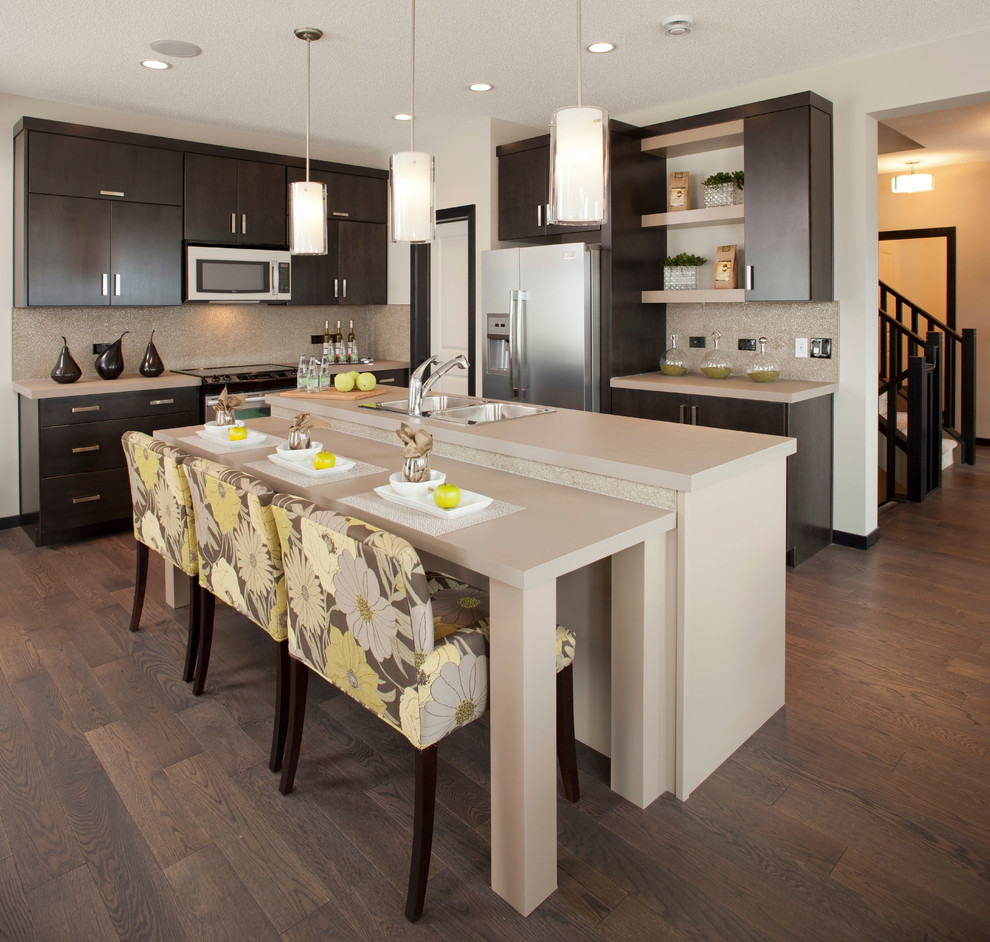 Cardel Homes for Contemporary Kitchen with Grey Counter