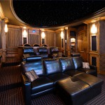 Carpet Tech Lubbock for Traditional Home Theater with Media Room