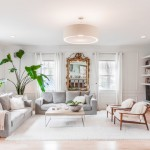 Cb2 Locations for Transitional Living Room with Gas Fireplace