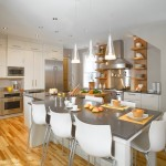 Ceasarstone for Contemporary Kitchen with Recessed Lighting