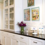 Ceasarstone for Traditional Kitchen with Black Countertop