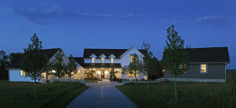 Celebrity Homes Omaha for Farmhouse Exterior with Driveway