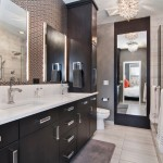 Ceramic Tileworks for Contemporary Bathroom with Single Handle Faucet