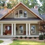 Certain Teed for Craftsman Exterior with Wood Columns