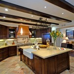 Cesar Stone for Rustic Kitchen with Kitchen Island