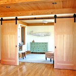 Cherrydale Hardware for Traditional Hall with French Doors