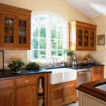 Cherrydale Hardware for Victorian Kitchen with French Window