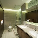 Chicago Faucet Shoppe for Contemporary Bathroom with Double Sinks