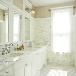 Chicago Faucet Shoppe for Victorian Bathroom with Window Treatments